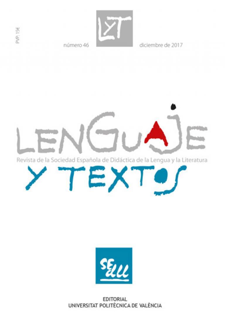 Revista Lenguaje y Textos | SEDLL